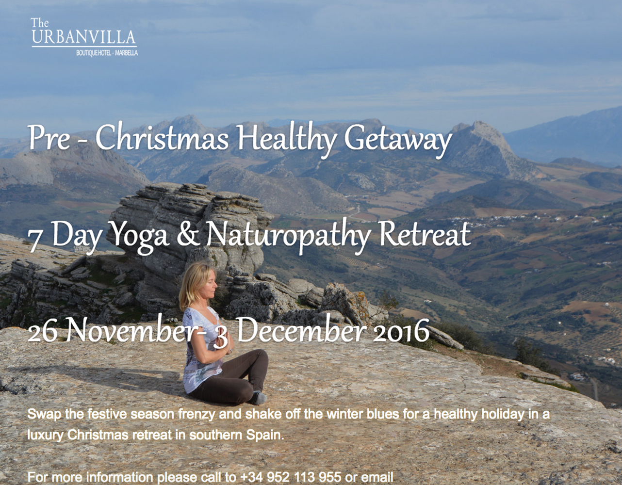 7 Day Yoga & Naturopathy Retreat