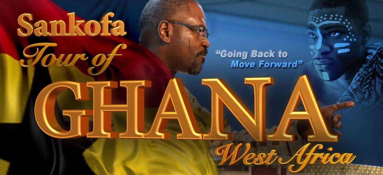 SANKOFA Tour of Ghana, West Africa: Dometi Pongo & Bishop Lance Davis