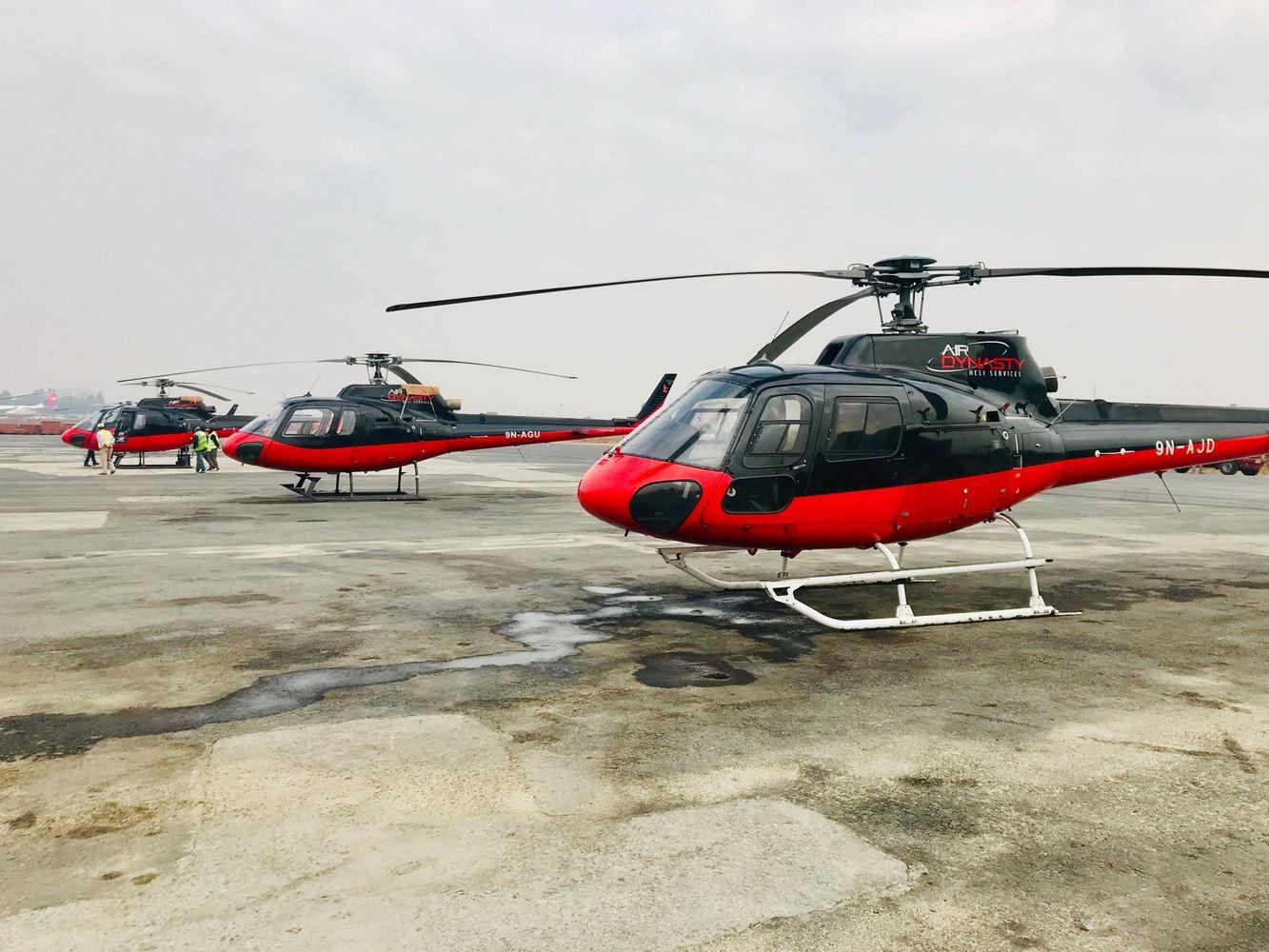 Lukla - Kathmandu Transfer Flight