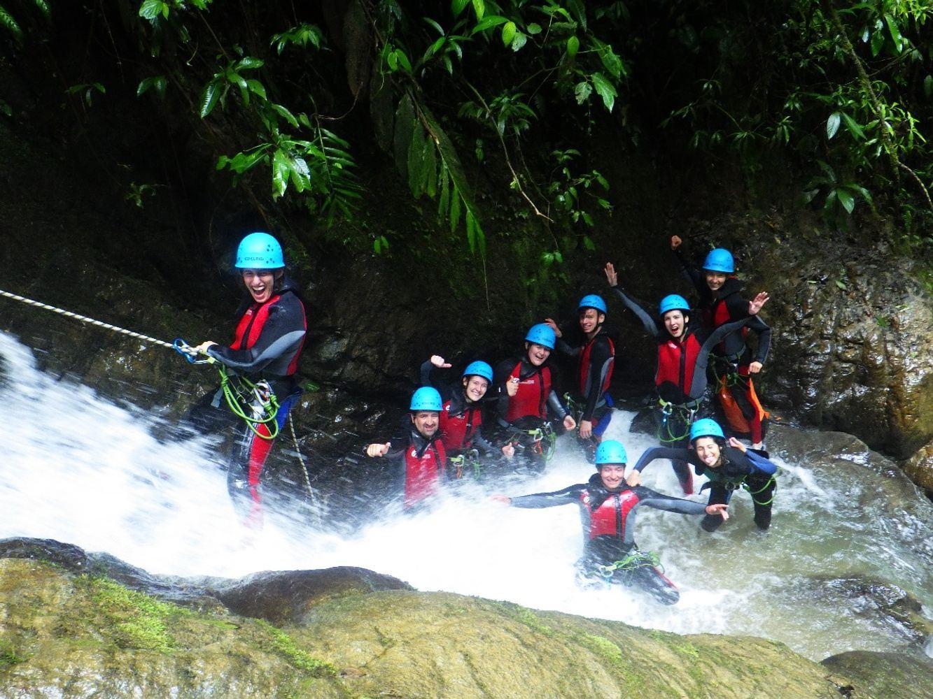 Canyoning Rio Blanco from Banos