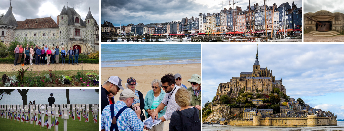 Normandy 8 Day Tour June 5th -June 13th, 2022