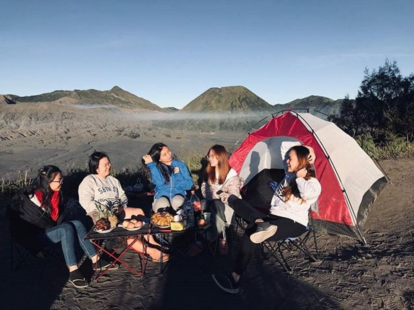 Bromo Camping Package