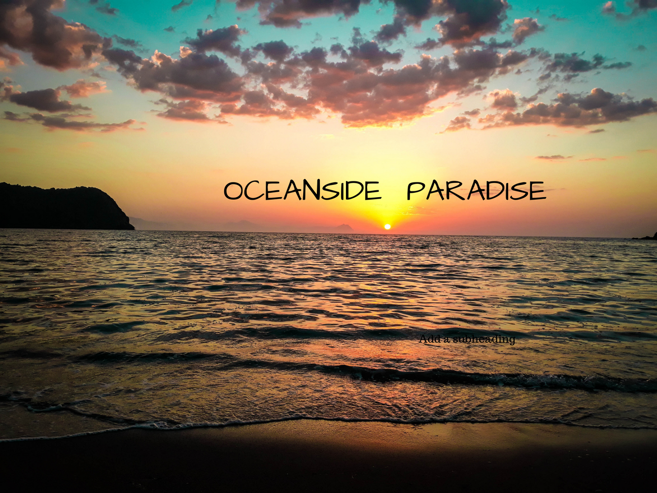 OCEANSIDE PARADISE. . . .Rest, Restore and Explore!