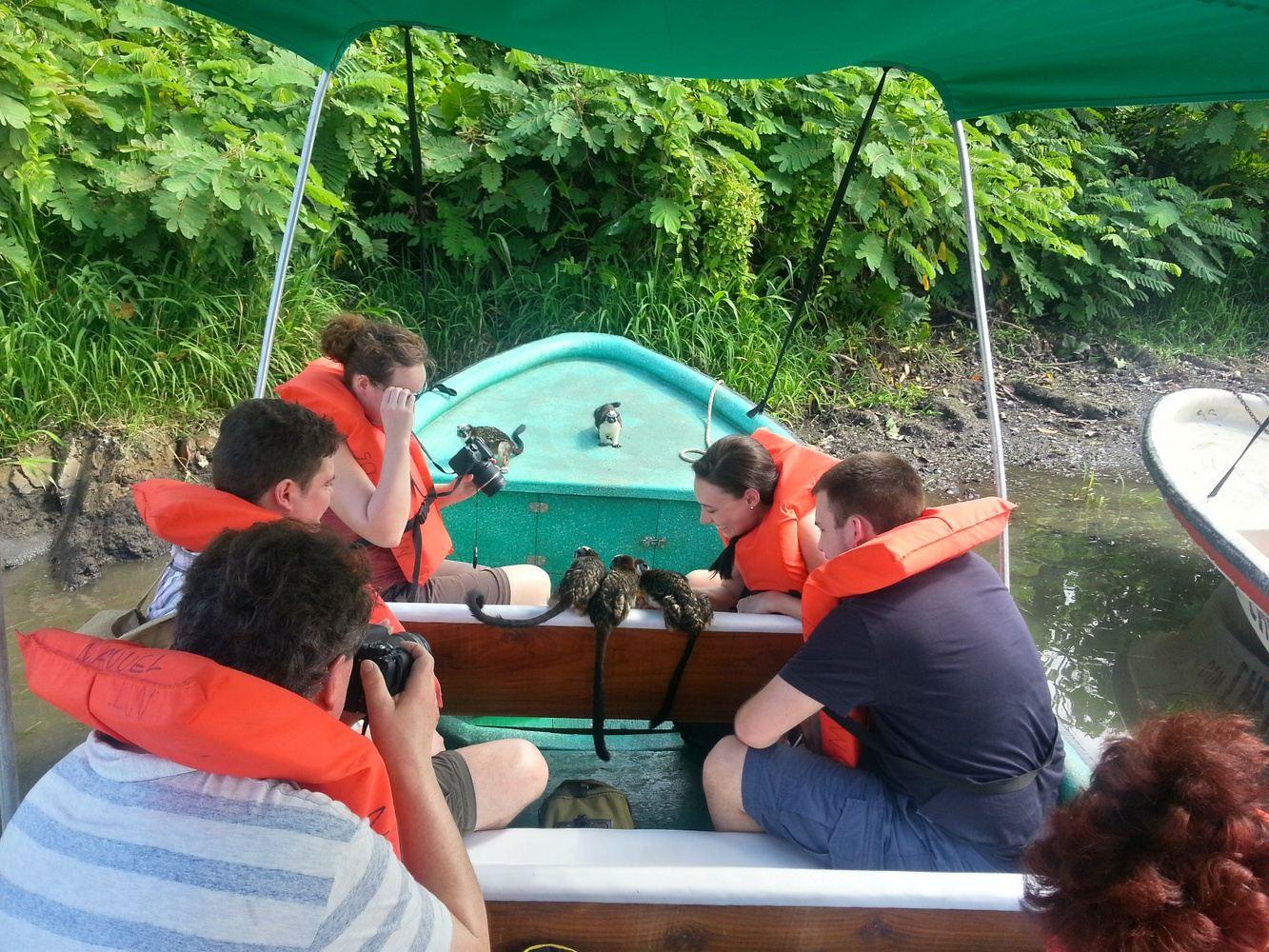 Ausflug Affeninsel und Panamakanal
