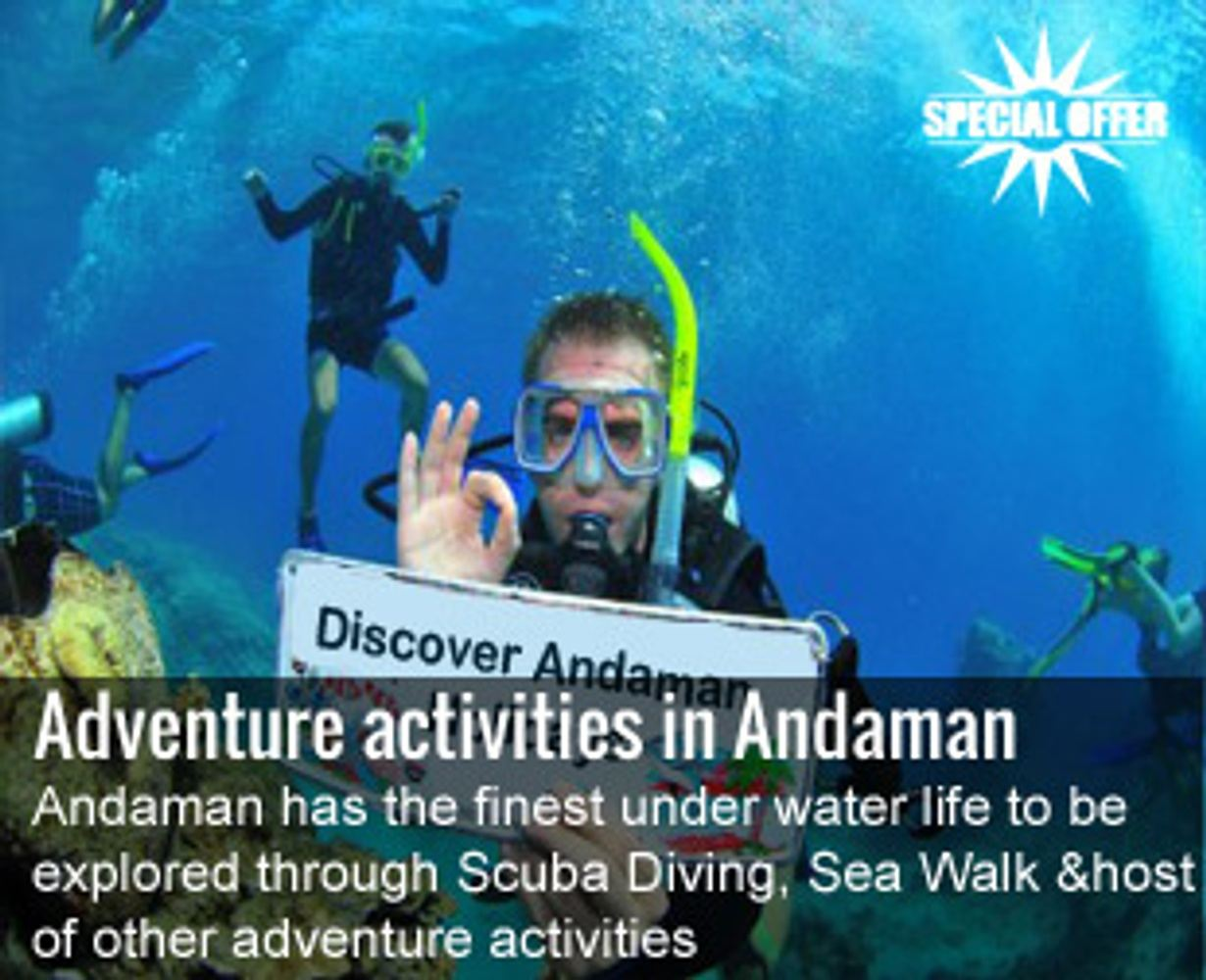 Affordable Port Blair Packages at Discoverandaman.in