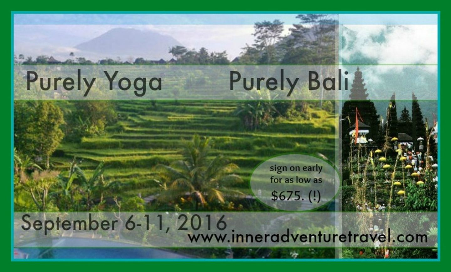 Purely Yoga - Purely Bali