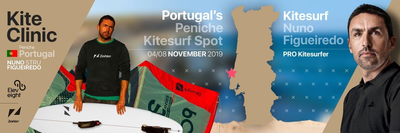 All inclusive Kite Camp in Portugal's  best wave spot!