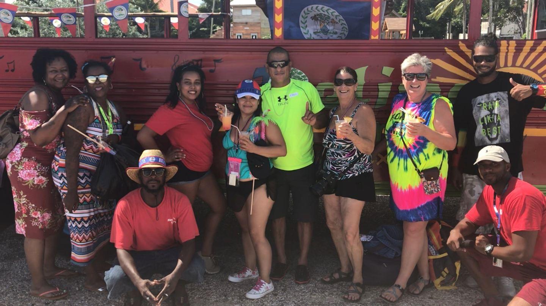 Belize Party Bus Tour