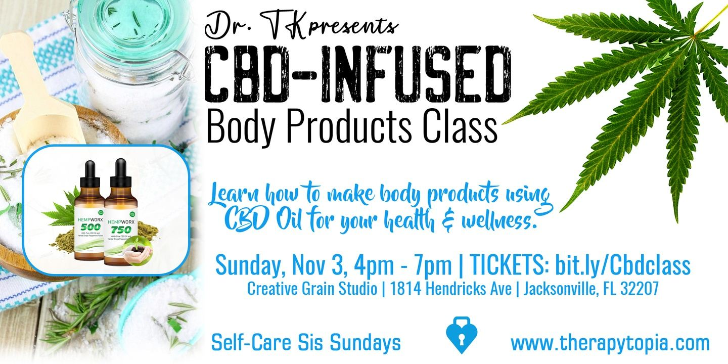Jax: Dr. TK Presents CBD-Infused Body Products for Self-Care Sis Sun