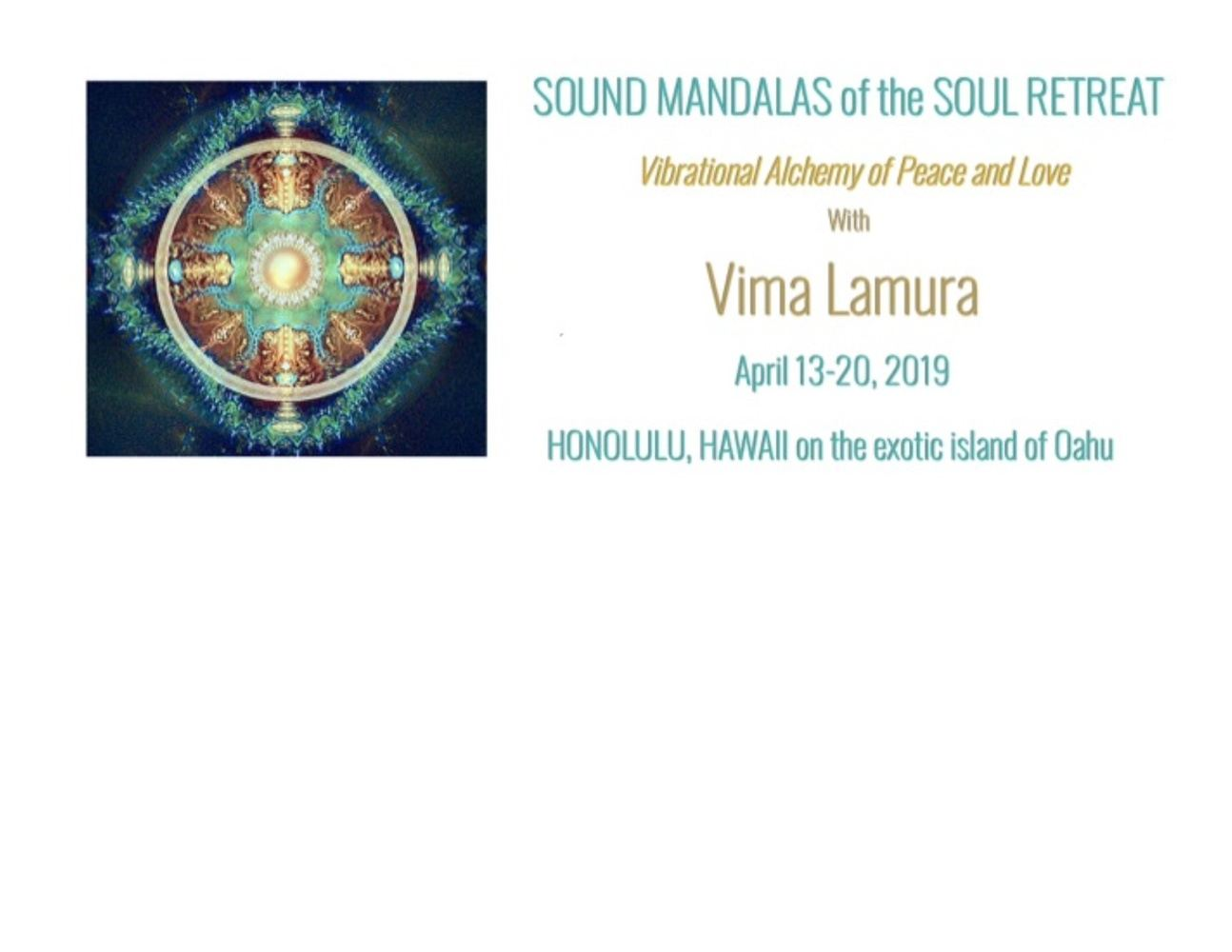 Sound Mandalas of the Soul