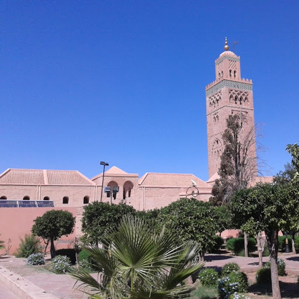 Short walking guided tour in Marrakech