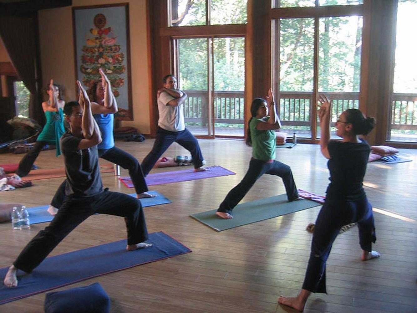 Yoga Wellness Weekend in the Sequoias