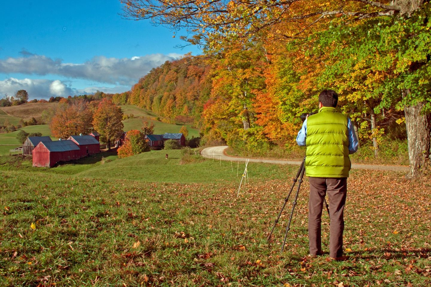 Vermont- Photographers, Foodies, Fall Foliage