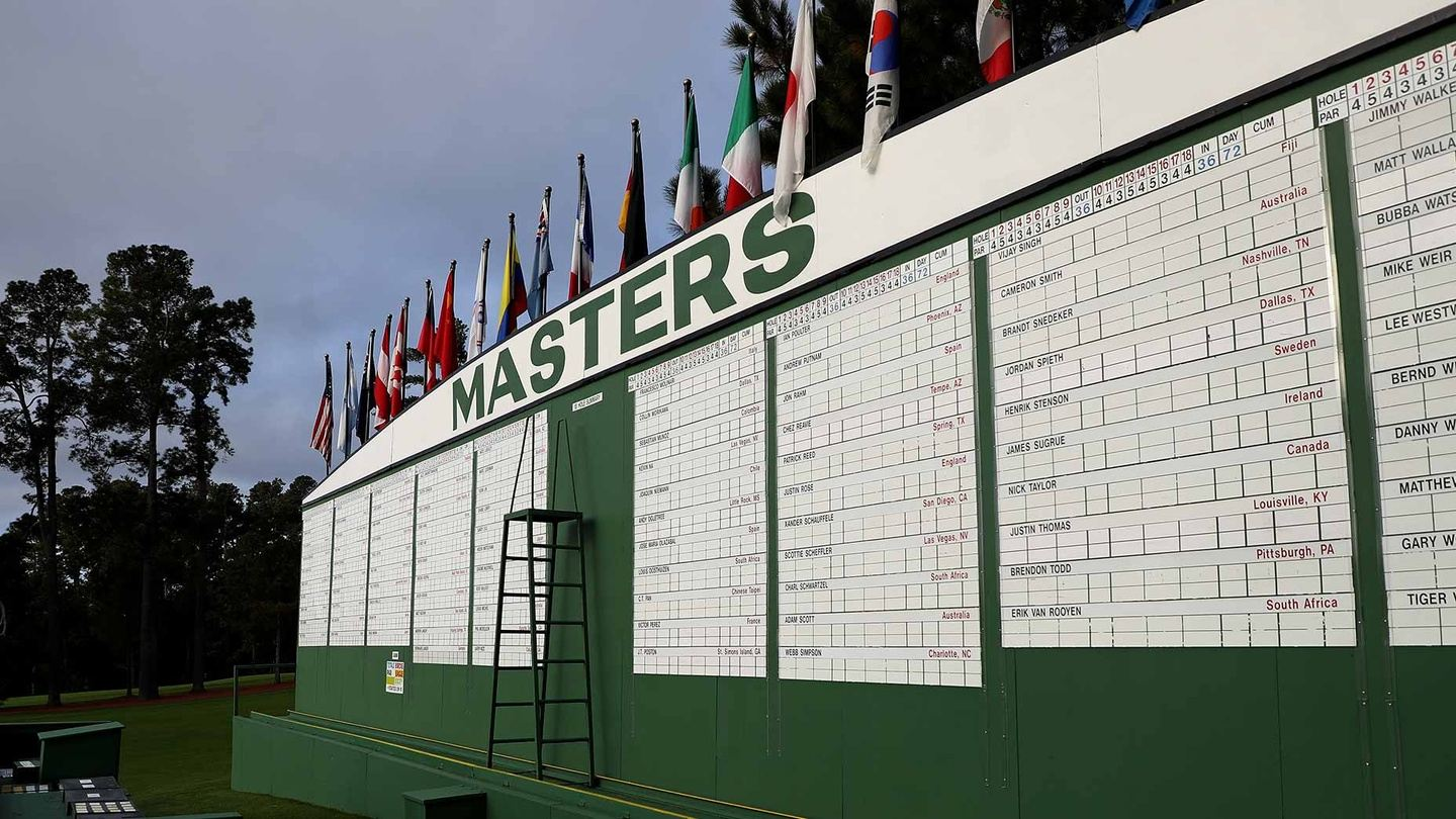 Master's Weekend: Saturday and Sunday