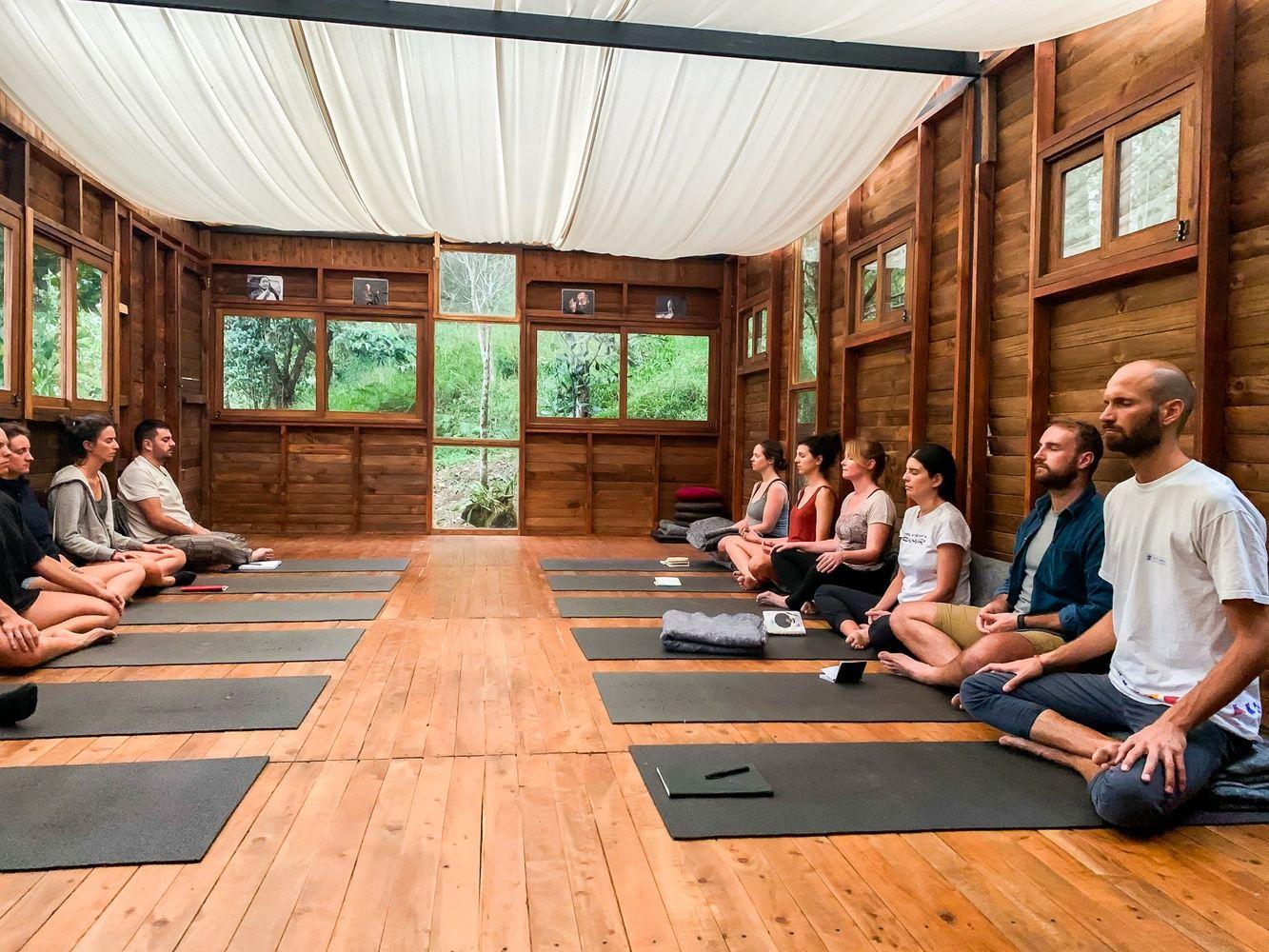 One Week Semi-Silent Meditation & Yoga Nature Retreat