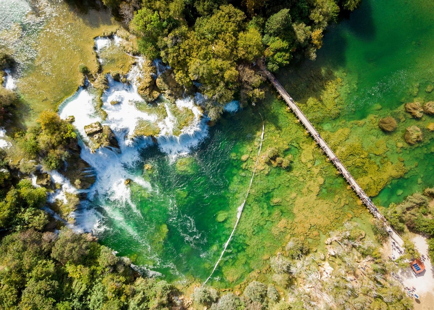 Krka Waterfalls  Food Tour  /Group up to 13 persons / from Split
