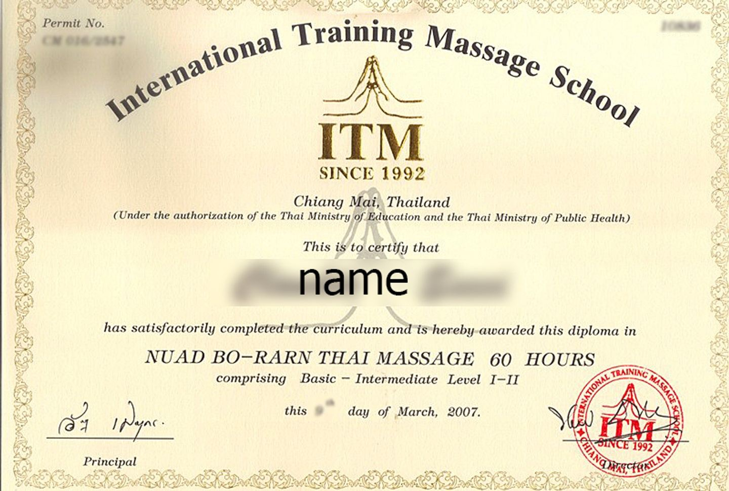 Certificated professional course of Thai massage- 11 days in Bali ...