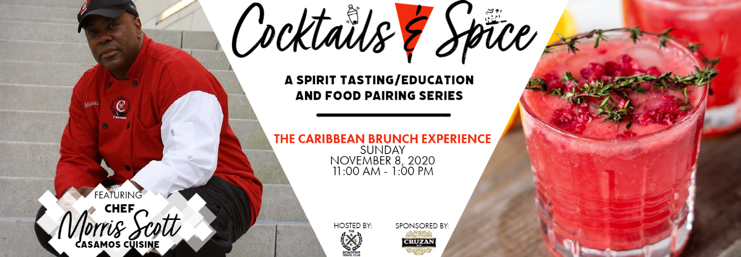 Cocktails & Spice:  The Caribbean Brunch Experience