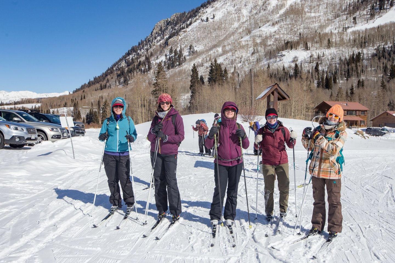 Women of Colorado Winter Retreat Back to Buena Vista