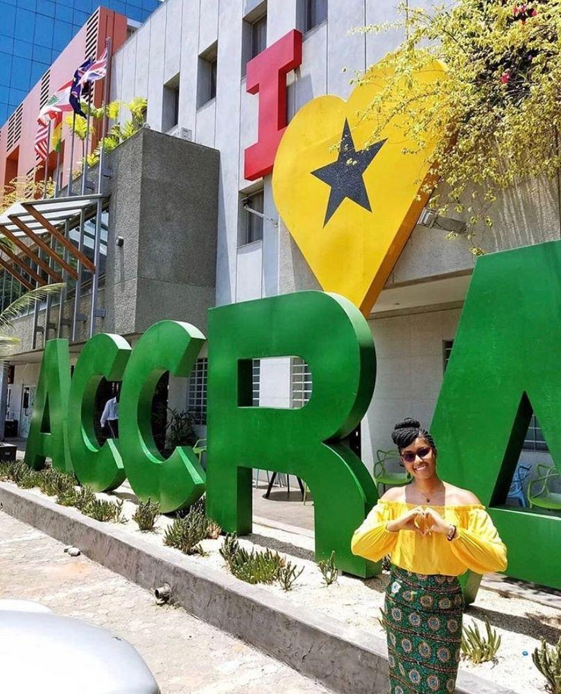 CHALE WOTE IN GHANA