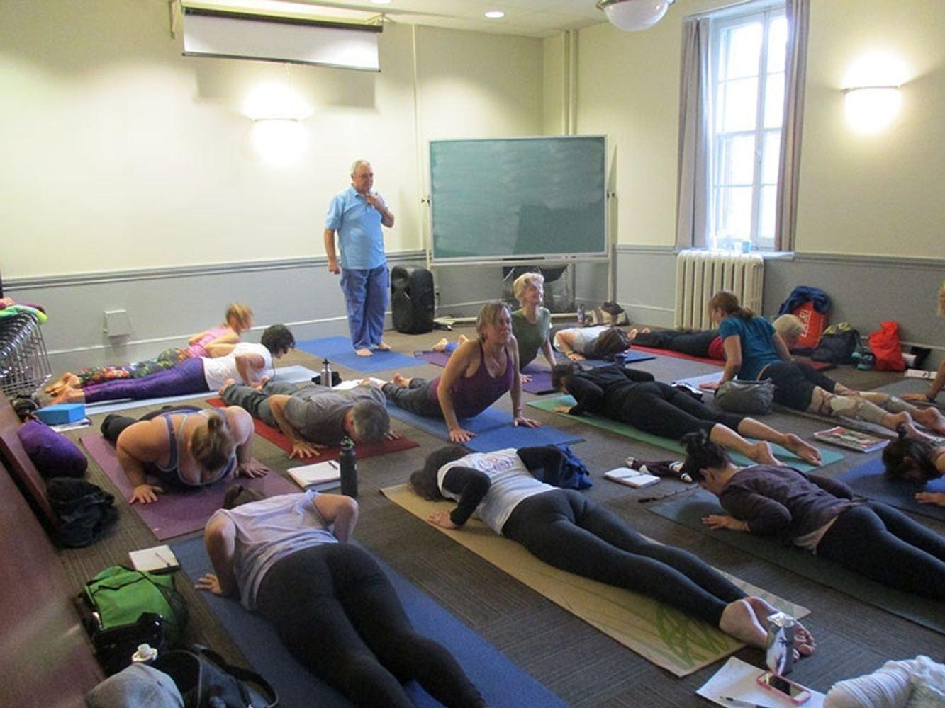 Yoga au Canada avec YogaPartout