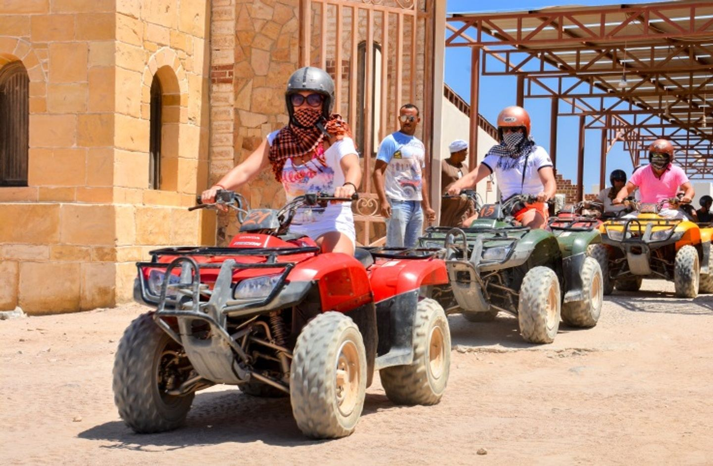 Quad Bike Tour in Hurghada