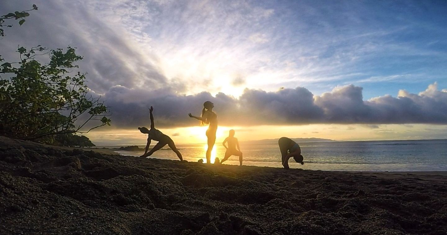 Costa Rica Rainforest Yoga + Surf Retreat