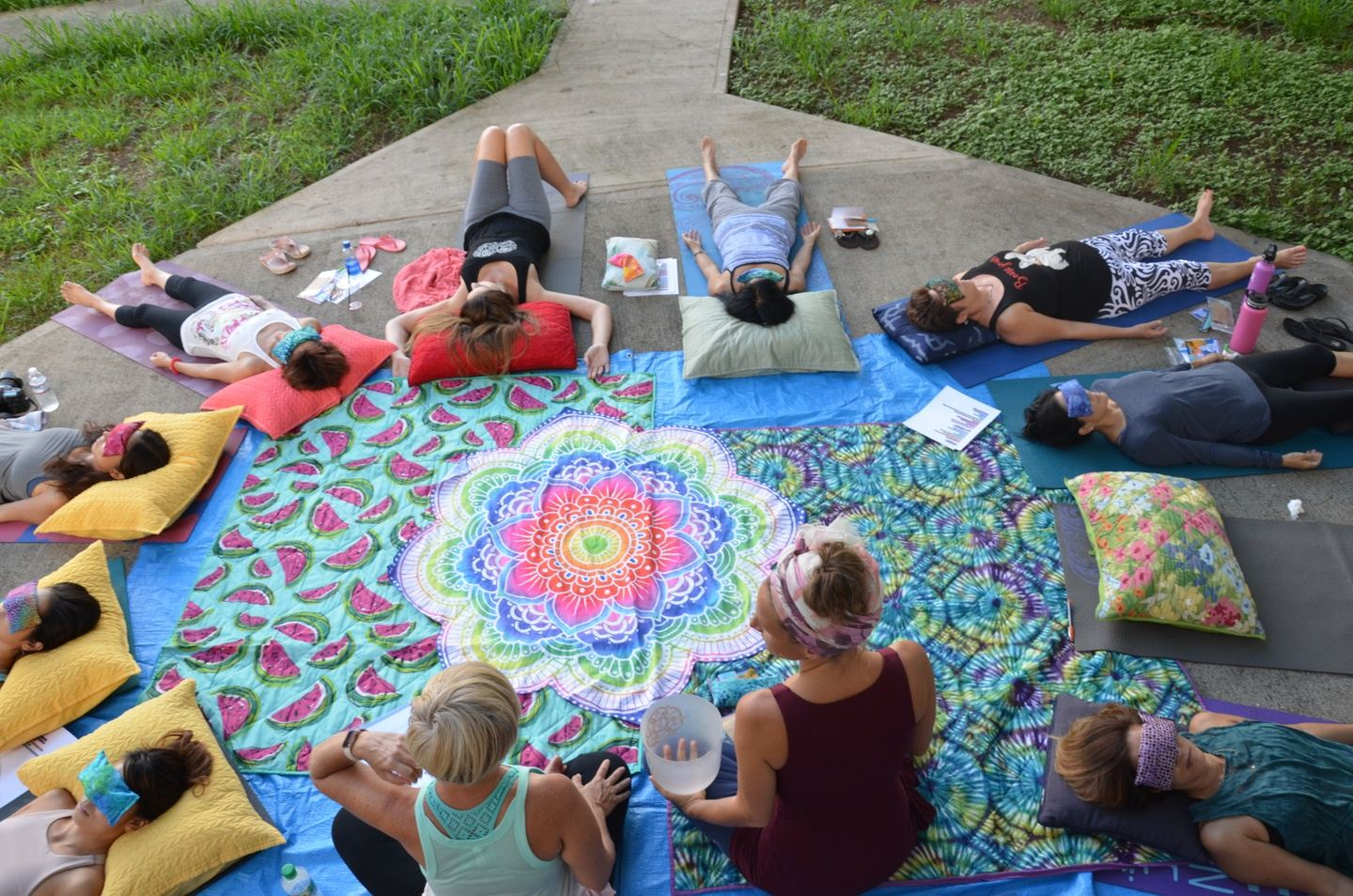 Yoga & Sound Healing Retreat with Christine & Lucie