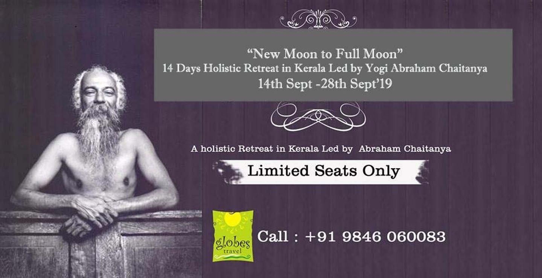 New moon to Full Moon -14 Days Holistic Retreat in Kerala