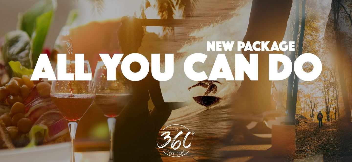 All you can do - Surf, Skate, Mind and Body and Hike