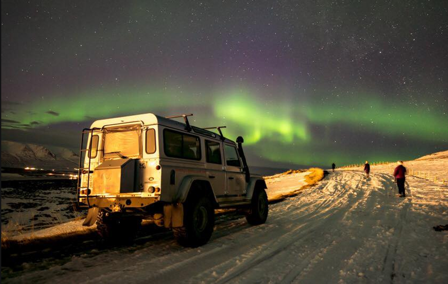 Fire and Ice:  DDY + The Northern Lights