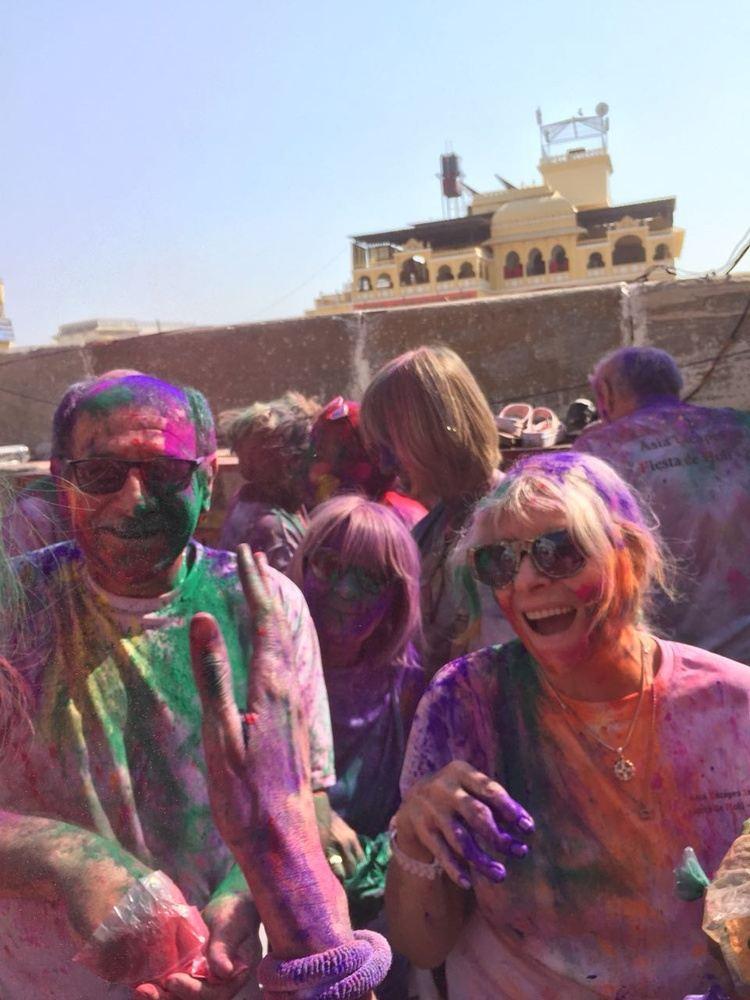 "Special Holi ""Colour Festival Departure"""