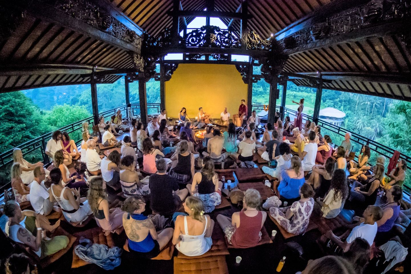 Chanting, yoga and nature retreat with Kevin James