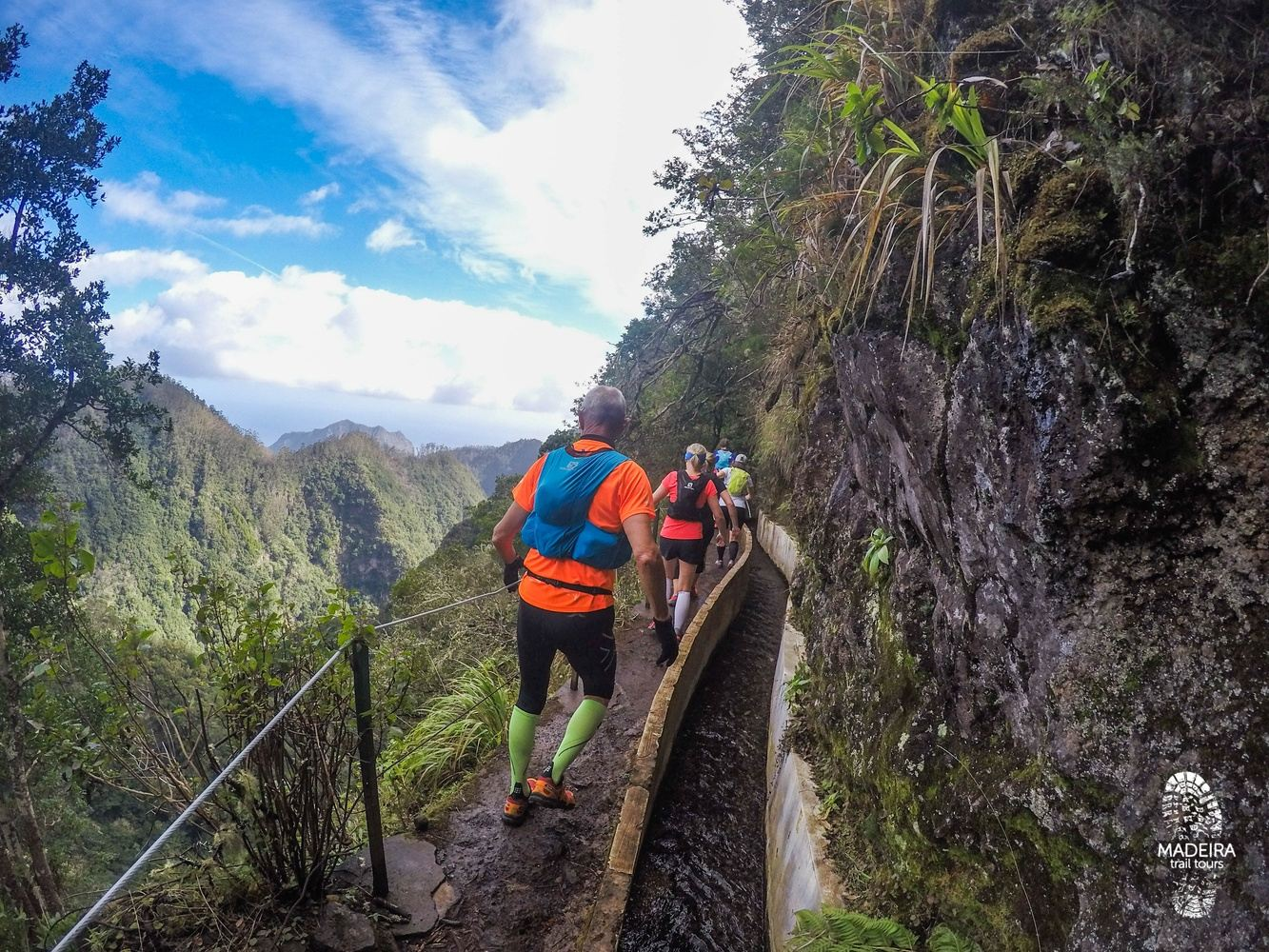 Green Levada Running Tour (Easy-Moderate) - MONDAY