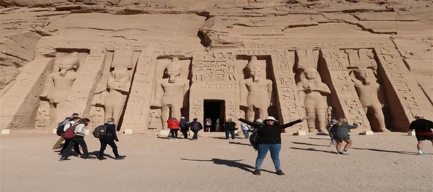 2 days 1 night Luxor and Aswan and abu simbel by flight from Cairo