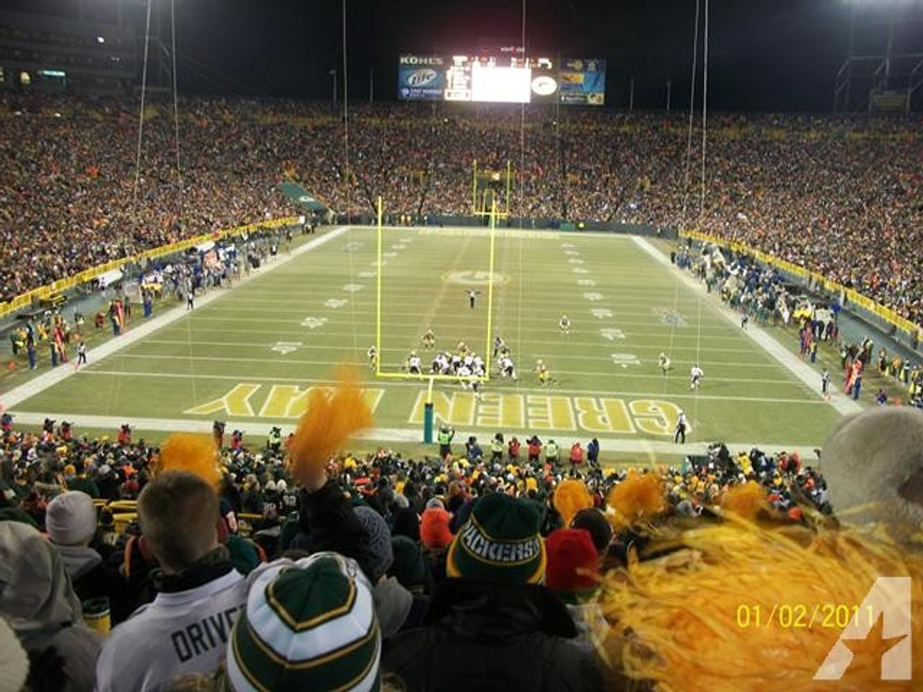 Eagles at Green Bay Packers