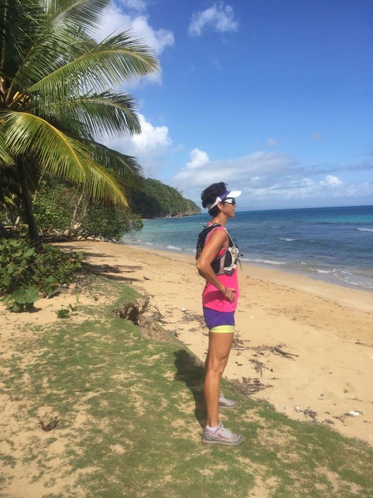 TRAIL RUN BY THE CARIBBEAN SEA  12km