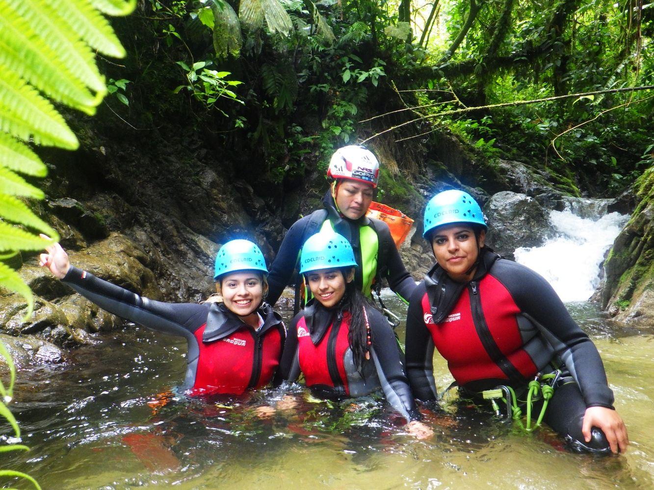 Canyoning Casahurco from Banos