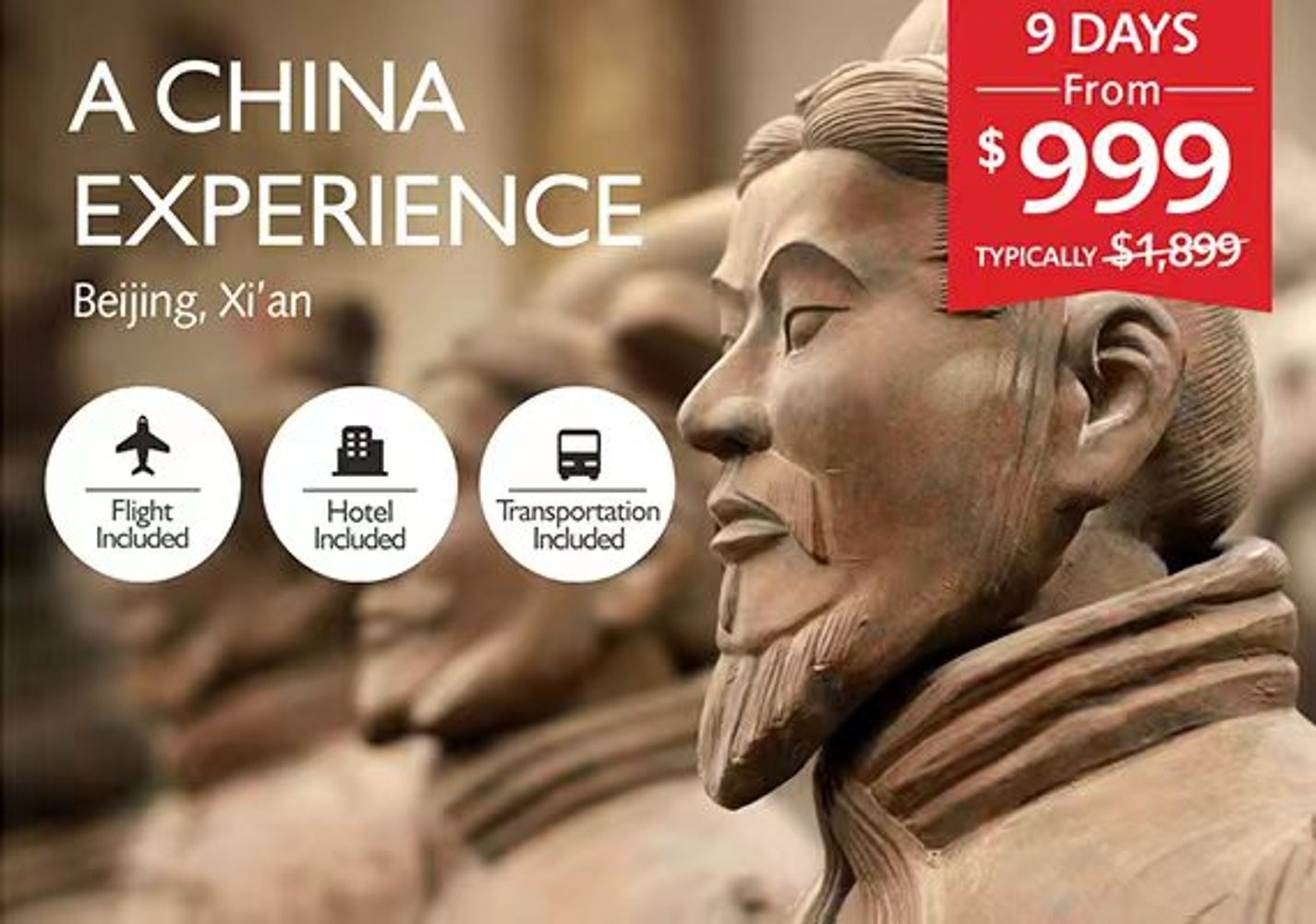 A China Experience 9 days (Travelzoo)