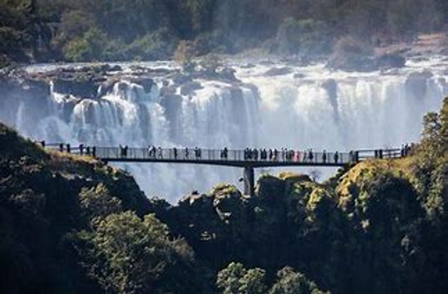 The Guided Tour of the Falls & Accommodation
