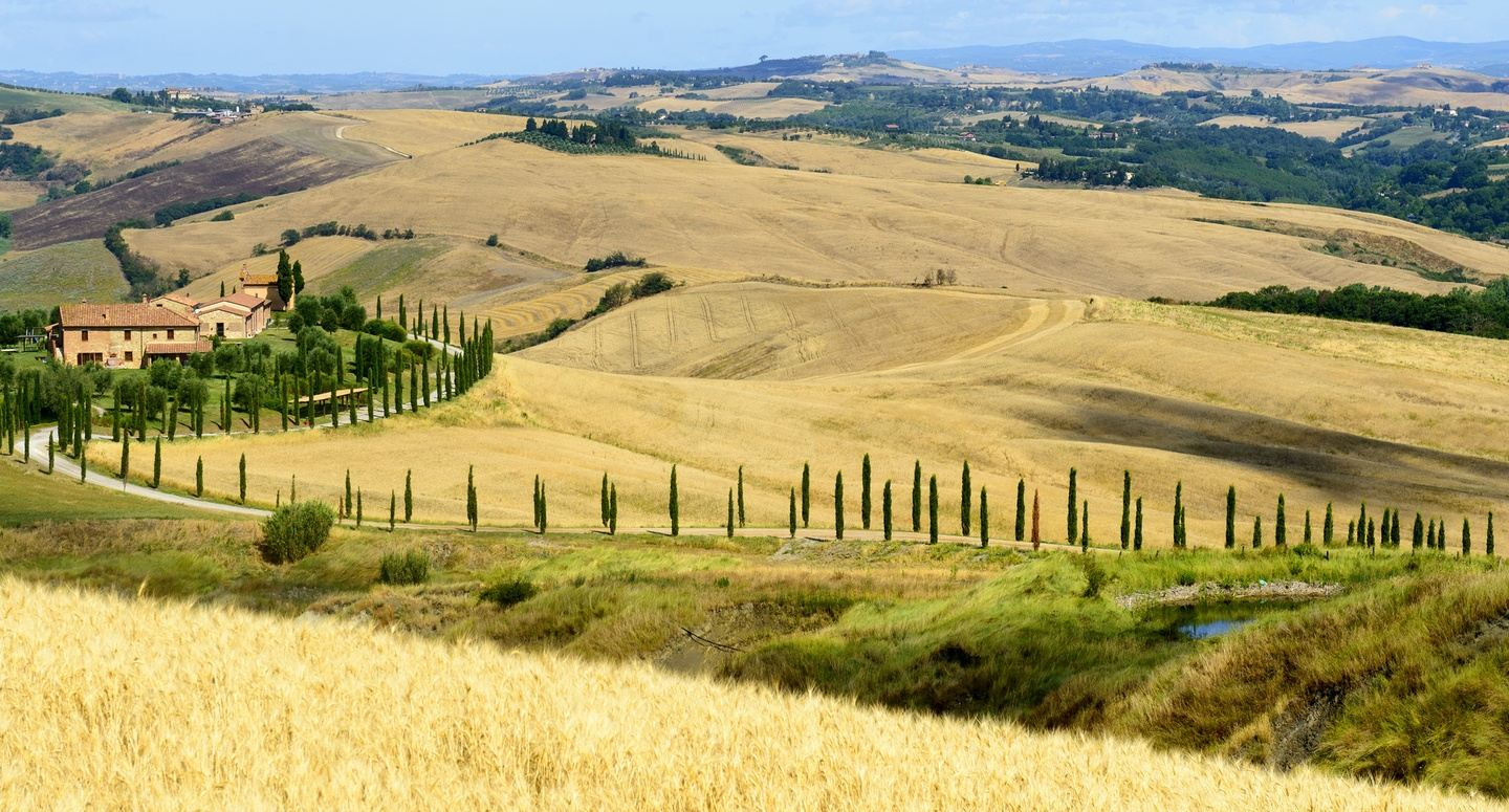 Hiking Tuscany Val D'orcia