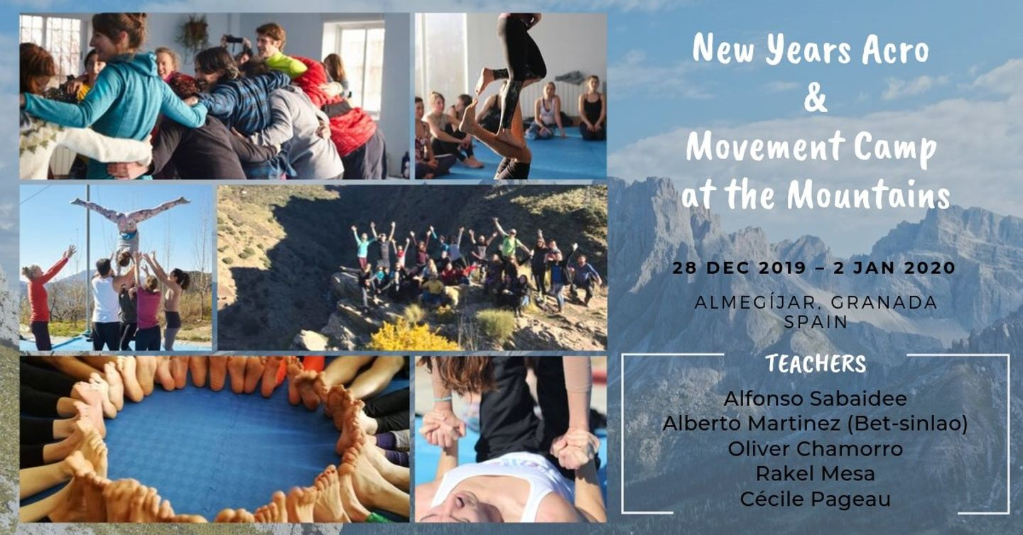 New Years Acro & Movement Camp at the Mountains