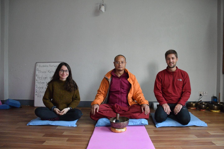 1 week Buddhist Yoga Meditation Retreat and Tour in Nepal