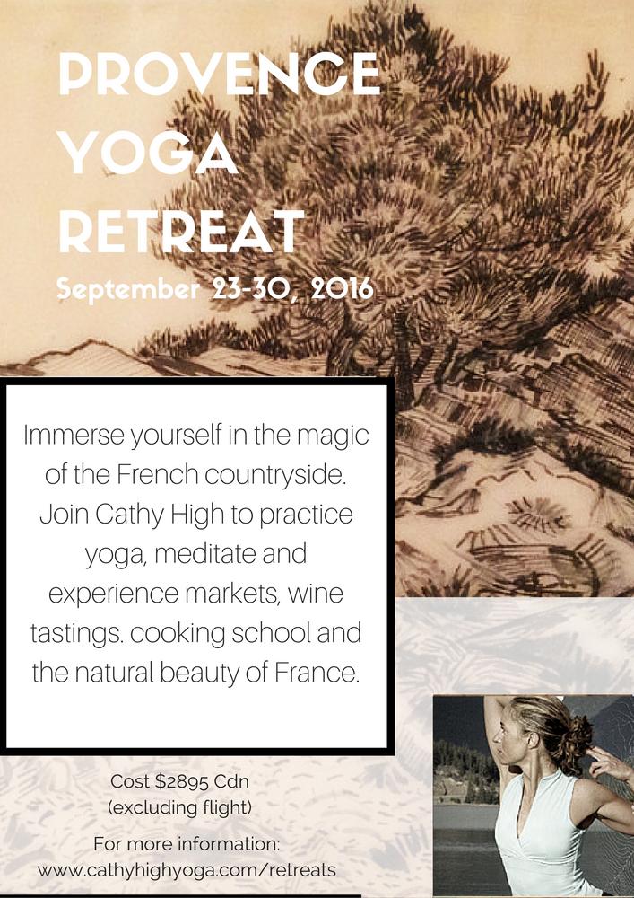 Provence Yoga Retreat
