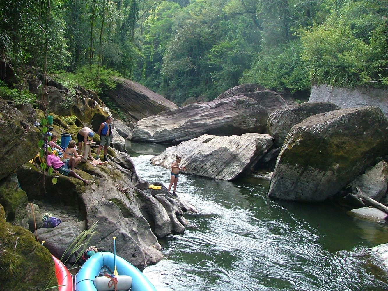 10 Days Jungle Rafting Expedition