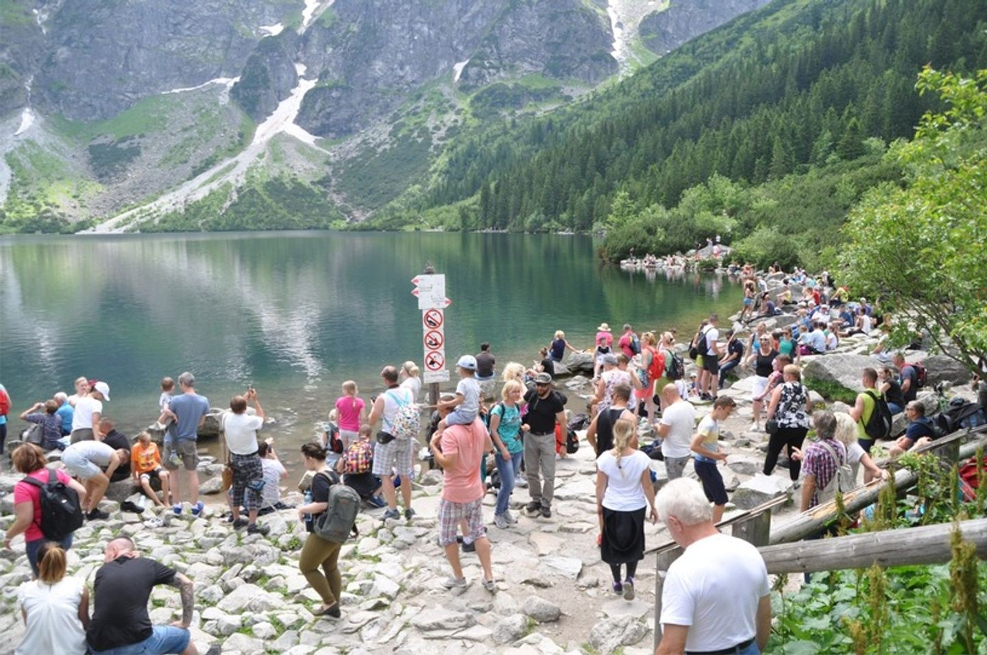 The best pond/lake to see in Tatra mountain