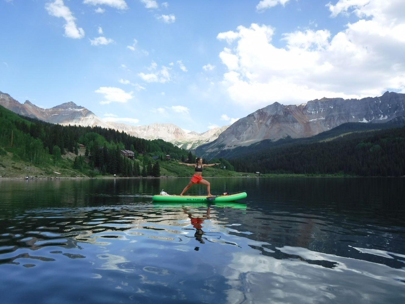 July 6th Trout Lake SUP Yoga @ 3pm