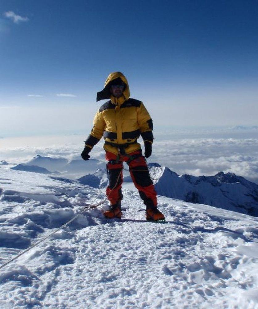 Scale Mera Peak (6,476m.) Nepal