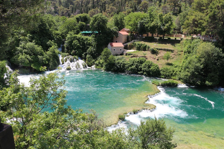 Krka Waterfalls tour from Split with Sibenik & Wine Tasting