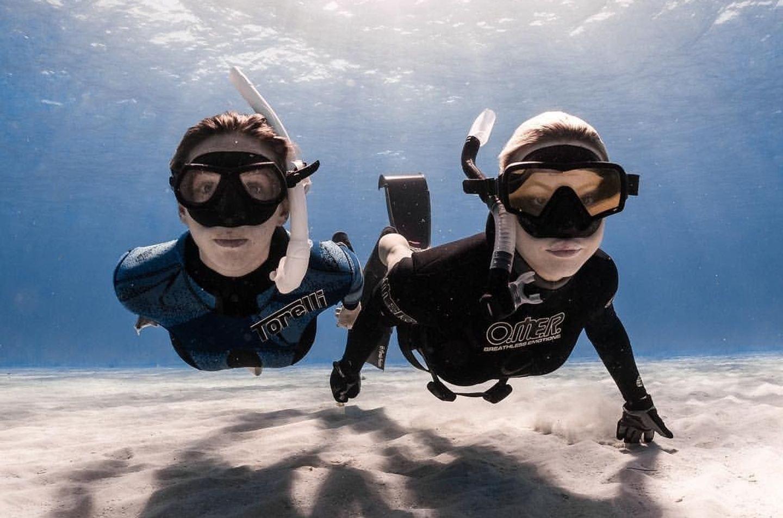 Girls Bahamas Freedive Camp